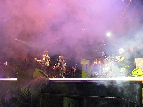 Keith Urban and band
